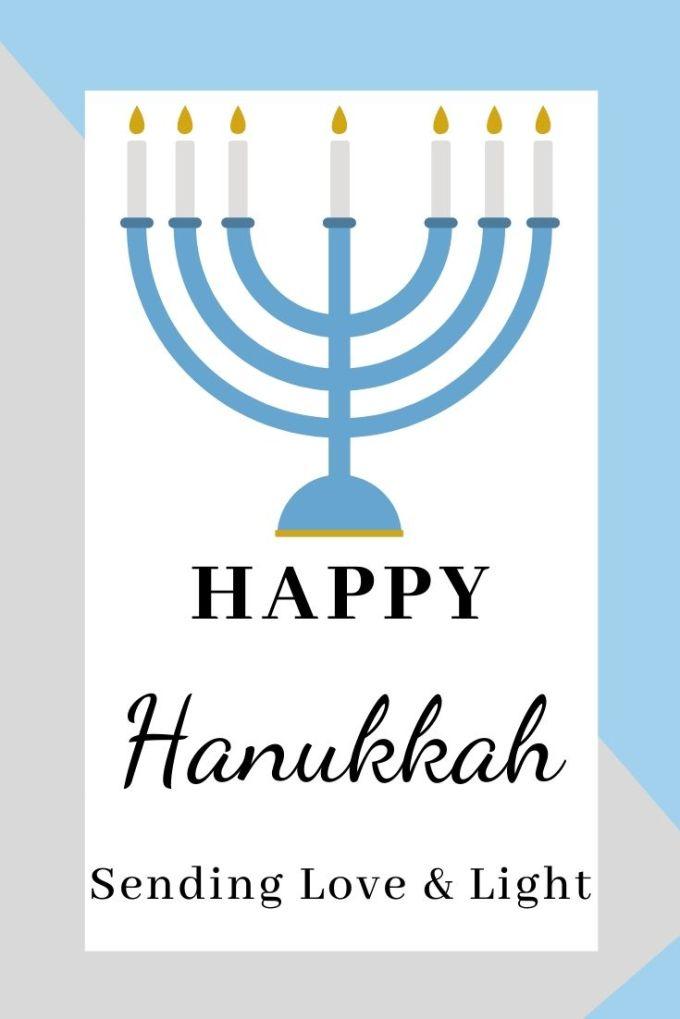 Hanukkah Cards   Chanukah   Festival Of Light   Festival Of Dedication   Modern Greeting Cards
